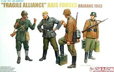 "Dragon 1:35 Axis Forces ""Fragile Alliance"" Balkans 1943 Figures Model Kit"