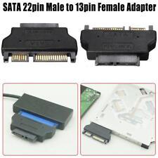 SATA 22Pin Male To ODD Slimline SATA 13 Pin Female CD-ROM Converter Adapter
