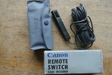 Interruptor de liberación remota Canon. muy Buena AE1 era?