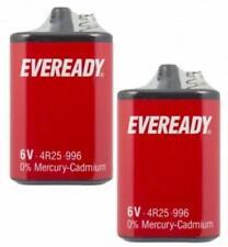 2 X 6V EVEREADY 6V BATTERY 4R25 996 TORCH LANTERN ENERGIZER ORIGINAL - PJ996
