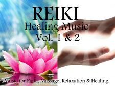 REIKI HEALING MUSIC VOL.1 & 2: FOR REIKI, MASSAGE, RELAXATION & HEALING 2 x CD's