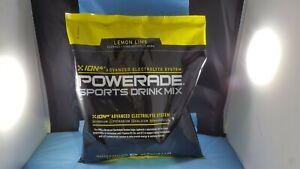 Powerade Powder Drink Mix, 2 LBS bag Lemon Lime (Yellow) Best BUY 08/2020