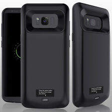 Portable 5500mAh Rechargeable External Battery Case F Samsung Galaxy S8 Plus S7