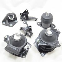 Engine Motor & Automatic Trans Mount Set of 6 For Honda Accord 2.4L 2003-2007