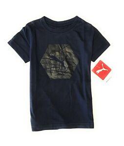 PUMA Little Boys' Short Sleeve T-Shirt (2 -7 Years)