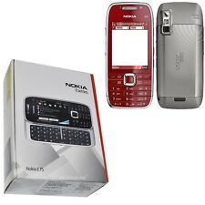 BNIB Nokia E75 Red 50MB QWERTY UK Factory Unlocked 3G 2G GSM New