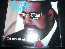 Barry White The Longer We Make Love Duet with Lisa Stansfield / Chaka Khan CD  U
