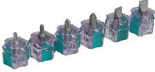 NUOVO Qualità Top Mini Stubby cacciaviti 6pz Set-ideale per spazi confinati * UK *