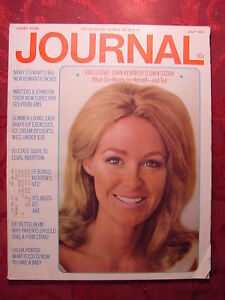 LADIES HOME JOURNAL July Jul 1970 MICHAEL CRICHTON MARY STEWART