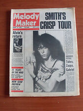 MELODY MAKER AUG 1 1978 PATTI SMITH FRAMPTON BEE GEES THE WHO DE DANANN CLOUT