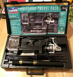 Daiwa Executive Travel Pack ~ Regal-s Spinning Real 2505B And Faisal Apollo Rod