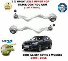 FOR BMW X1 SDRIVE 2009-> 2X FRONT AXLE UPPER LEFT + RIGHT SUSPENSION CONTROL ARM