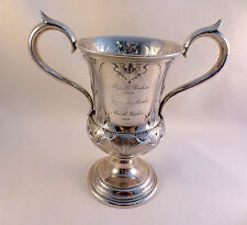 Ornate Gorham Coin Silver 2 Handled Cup-6""