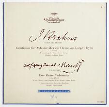 LEITNER Brahms Op.56a EUGEN JOCHUM Mozart K.525 ORIG DGG 18002 alle rechte FD LP