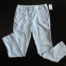 ADRIENNE VITTADINI baby Blue Dress Pants Womans Size 4 NWT Msrp $19.99