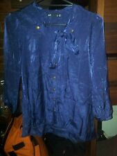 BNWOT Dotti Size 12 Silky Long Sleeved Shirt