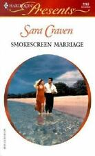 Smokescreen Marriage, Craven, Sara, 037312287X, Book, Acceptable