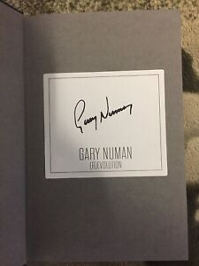 Gary Numan Signed ®evolution: The Autobiography Hardback Book New