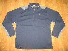 Mens Nike Fit Dry athletic quarter zip shirt sz Xl