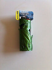 Mystic Flying Dragon Green Pewter Bic Lighter Holder Case New
