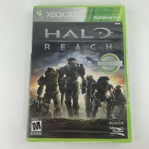 Halo Reach (Xbox 360, 2010)- Factory Sealed-Never Opened