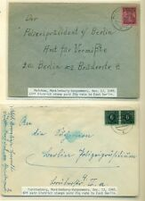 GERMANY ALLIED OCCUPATION – 1945-50 Collection of 33 covers, Michel $1,000.00+