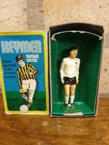 Vintage Keyman Football Series Martin Peters Figure Early 1970;s Boxed