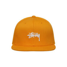 ba262abbd22 100% BRAND NEW WITH TAGS STUSSY STOCK SU18 SNAPBACK CAP HAT GOLD (131807)