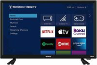 "Westinghouse 24"" LED 720p HD Smart Roku TV w/ 3 HDMI"