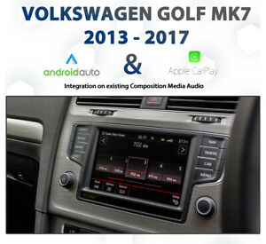 Volkswagen Golf Mk7 / 7.5 -  Apple CarPlay & Android Auto Integration