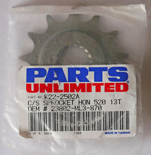 Honda CR250/500 1988-2007, CRF450 02-17 front sprocket 13T