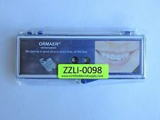 Dental Orthodontic ORMAER Ceramic Bracket Roth (20 Pcs/ 1 Case) U/L 5X5 345HK,