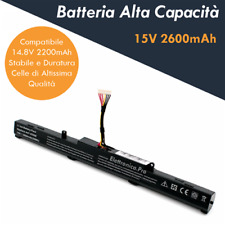 Batteria Alta Capacità per Notebook Asus F550Z Series (Potenziata)