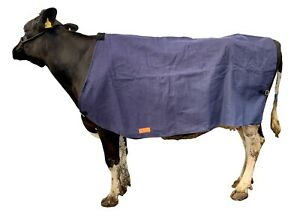 AniMac Canvas Cow Cover | Wool Lined | Showerproof | For Show or Sick Cows