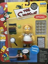THE SIMPSONS World of Springfield WOS MARTIN PRINCE Series 5 Action Figure NIB