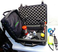 Pelican Case UK SL4 Sun Light Retractor Lanyard 2-LP hoses Akona Regulator Bag +