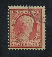 CKStamps: US Stamps Collection Scott#369 2c Lincoln Used Bluish CV$250