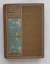Nooks & Corners of the New England Coast Book plate by Ike Morgan 1875 ME NH MA