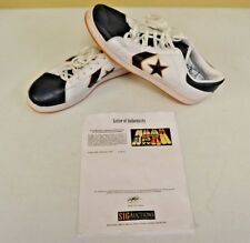 b2d417ec0b9 Converse Pro Leather USED Shoes sz 14 DWAYNE WADE Personal Owned Marquette  w COA