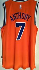 Adidas Swingman 2015-16 NBA Jersey New York Knicks Carmelo Anthony Orange  sz 2X b2dc86780
