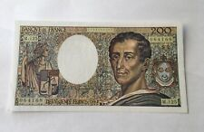 Billet 200 Francs Montesquieu 1992
