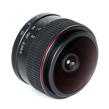 Meike 6.5mm Ultra Wide f/2.0 Fisheye Lens Manual Focus Lens for Canon Mirorrless