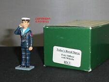 KING AND COUNTRY RN02 BRITISH ROYAL NAVY PETTY OFFICER WITH WHISTLE TOY SOLDIER