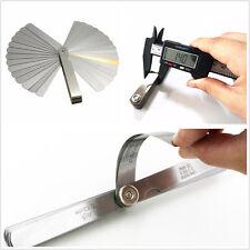 Car 32In1 Metal Blade Feeler Gauge Dual Reading Combination Measuring Meter Tool