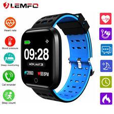 LEMFO Smart Watch Heart Rate Blood Pressure Waterproof Sport Bracelet Smartband