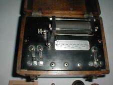 1920's Signal Electric Mfg Quack Medical Shock Treatment Device Md Wood Box Vtg