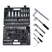 Mechanics 108 pc Tool Set Ratchet Wrench Socket Combination repair w/ Case Box
