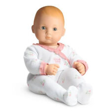 American Girl BITTY BABY  DOLL BB10 WHITE SLEEPER BLOND HAIR, GREEN EYES NEW
