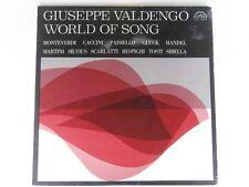 Giuseppe Valdengo - WORLD OF SONGS - Supraphon SUA 10884 - LP