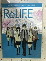RELIFE SERIE COMPLETA EN 3 x DVD ESPAÑOL Y JAPONES   AM